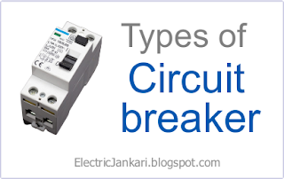 types of circuit breaker इन हिंदी