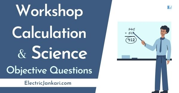 ITI Workshop calculation and Science question paper PDF